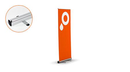 Impression roll up en ligne imprimer roll ups pas cher for Ufficio discount